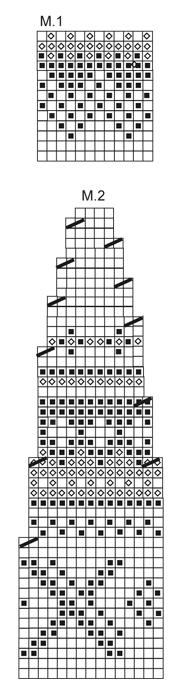 схема вязания рисунка