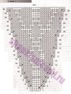 схема вязания 1